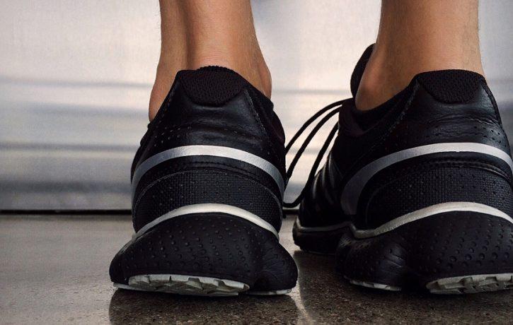heel of feet